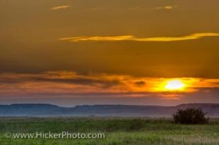 photo of Grasslands National Park Sunset Frenchman River Valley Saskatchewan