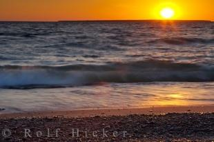 photo of Great Lakes Sunset Lake Superior Ontario Canada