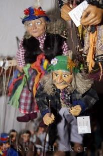 photo of Handmade Puppets Golden Lane Prague Castle