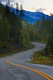 photo of Highway Slocan Valley Kootenay British Columbia Mountains