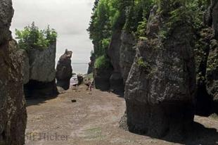 photo of hopewell rocks