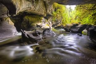 photo of Little Huson Cave Northern Vancouver Island
