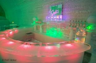 photo of ice hotel bar