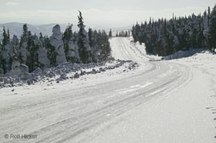 photo of ice road
