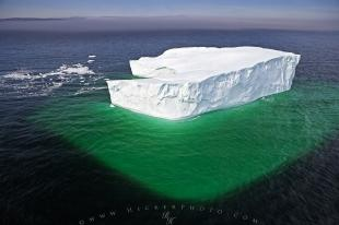 photo of Aerial Iceberg Underwater Picture Atlantic Ocean