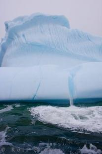 photo of Iceberg Details Atlantic Ocean Southern Labrador Canada
