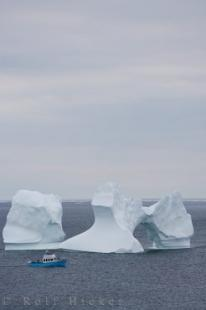 photo of Iceberg Tourboat Newfoundland Canada