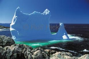 photo of Stranded Iceberg Photo Newfoundland Coast