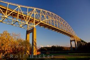 photo of International Bridge Sault Ste Marie Ontario Picture