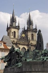 photo of Jon Hus Monument Old Town Square Prague Czech Republic