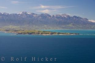 photo of Kaikoura Peninsula Aerial Picture South Island NZ