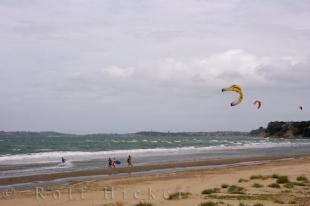 photo of Kiteboarding Holiday Orewa Beach New Zealand