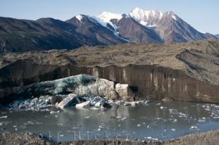 photo of Kluane National Park Glacier Picture Yukon Territory