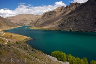 photo of Lake Dunstan Landscape Central Otago New Zealand