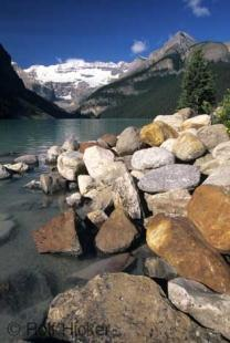 photo of Lake Louise Scenic Landscape