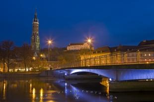 photo of Landshut Isar River Dusk Picture
