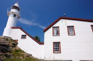 photo of Lobster Cove Lighthouse Building Newfoundland