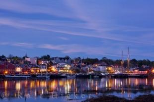 photo of Beautiful Lunenburg Dusk Picture