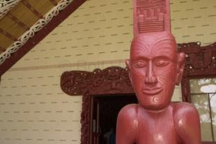 photo of Maori Culture Waitangi Meeting House