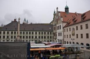 photo of Photo Of The Marienplatz Freising Bavaria