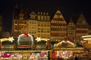 photo of Christmas Market Historic Old Town Frankfurt