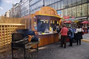 photo of Market Stall Snacks Prague Czech Republic