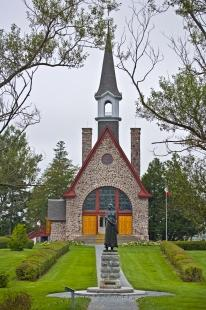 photo of Memorial Church Grand Pre National Historic Site Bay Of Fundy Nova Scotia