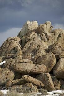 photo of Photo of Mono Lake Rock Piles