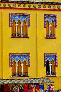 photo of Typical Moorish Architecture Details Facade