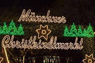 photo of Muenchner Christkindlmarkt Sign