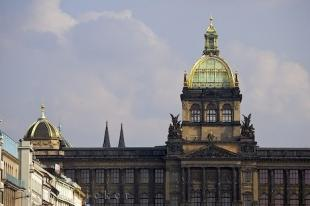 photo of National Museum Rooftop Wenceslas Square Prague