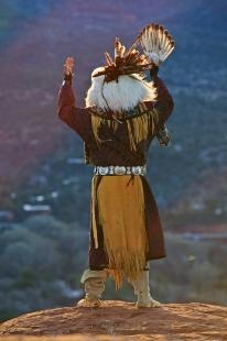 photo of Indigenous Native American Man