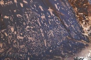 photo of Native American Art Petroglyphs Newspaper Rock