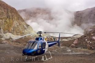 photo of New Zealand Helicopter Tours White Island