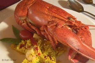 photo of Cooked red lobster