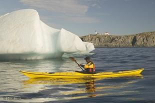 photo of sea kayaking