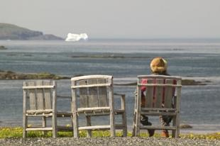 photo of Relaxation Techniques Watching Icebergs