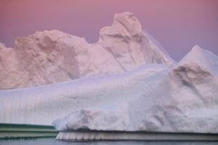 photo of Icebergs Details Sunset