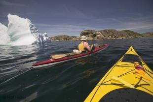 photo of kayak expedition
