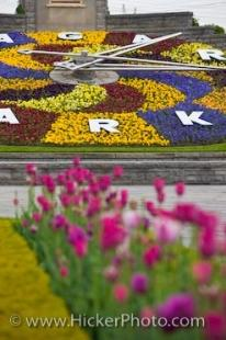 photo of Niagara Parks Floral Clock Queenston Ontario