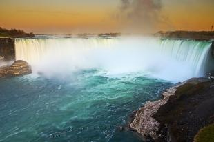 photo of Niagara River Horseshoe Falls Ontario Canada