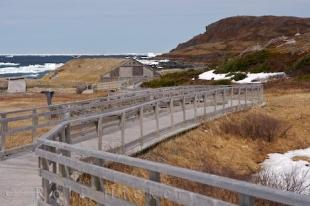 photo of Norstead Viking Site Boardwalk Newfoundland Canada