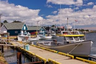 photo of Fishing Boats North Rustico Harbour PEI