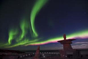photo of Northern Lights Show Churchill Manitoba