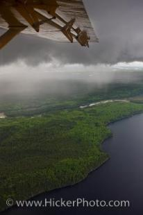 photo of Aerial View Lakes Islands Forest Bush Plane Northern Ontario