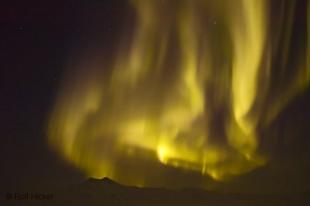 photo of northern lights yukon