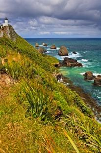 photo of Nugget Point Catlins New Zealand