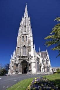 photo of Exterior First Church Otago Dunedin South Island New Zealand