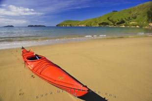 photo of Ocean Kayak Sandy Beach New Zealand