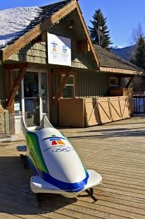 photo of Olympic Office Whistler 2010 Winter Games BC Canada